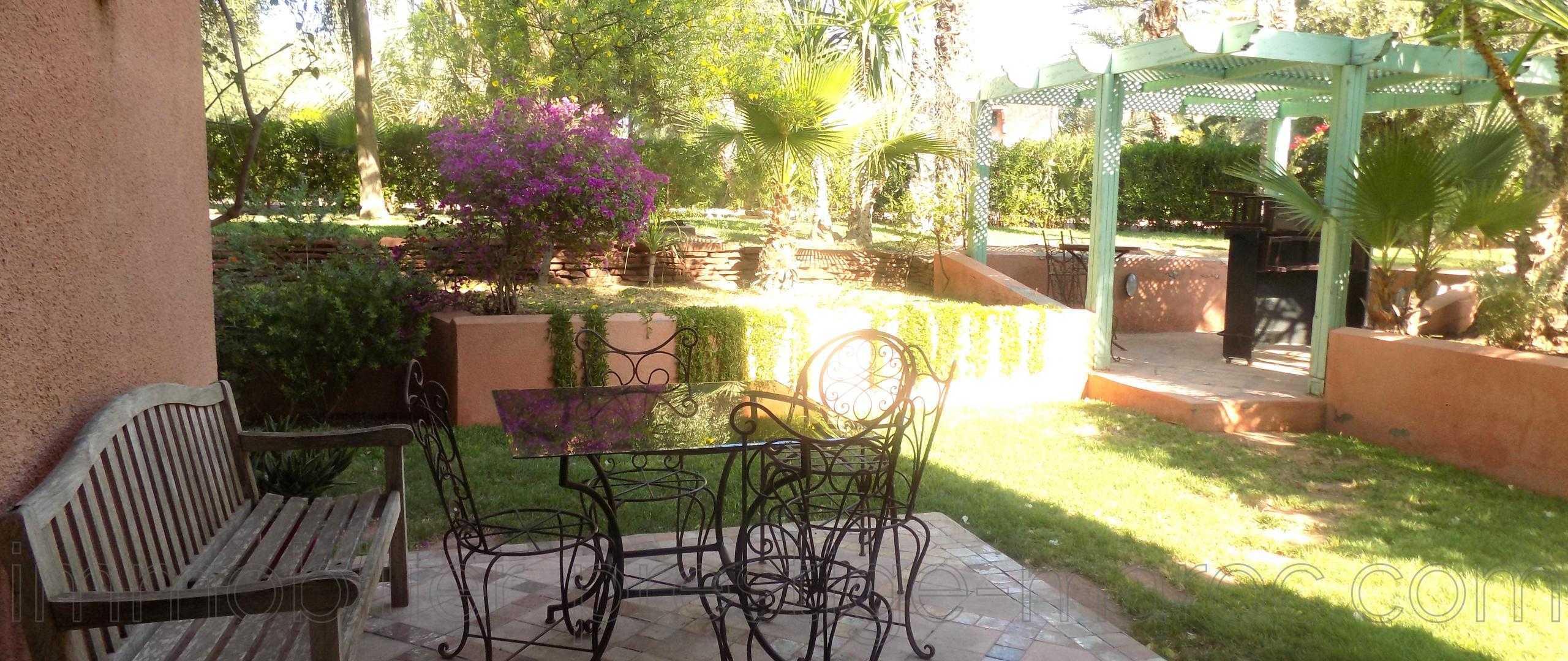 Magnifique duplex avec Jardin & piscine -Palmeraie