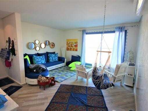 Appartement avec terrasse vue mer dans un immeuble neuf de standing